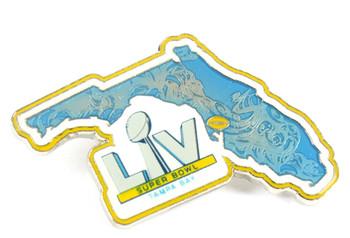 Super Bowl LV (55) Florida State Pin