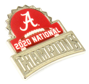 Alabama Crimson Tide 2020 BCS National Champs Pin