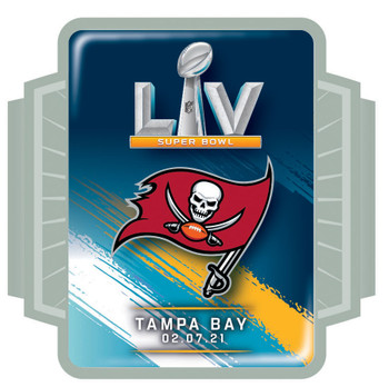 Tampa Bay Buccaneers Super Bowl LV (55) Pin