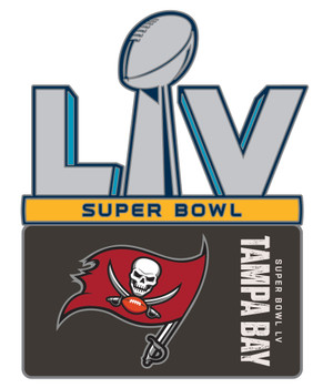 Tampa Bay Buccaneers Super Bowl LV (55) Pin.