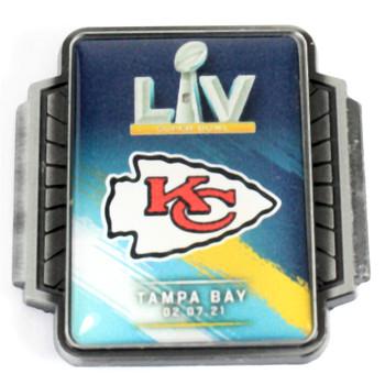 Kansas City Chiefs Super Bowl LV (55) Pin