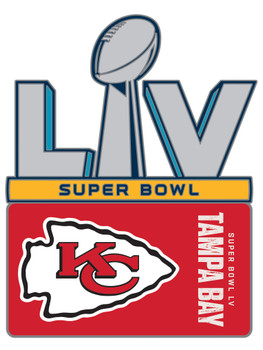 Kansas City Chiefs Super Bowl LV (55) Pin.