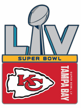 Kansas City Chiefs Super Bowl LV (55) Pin.