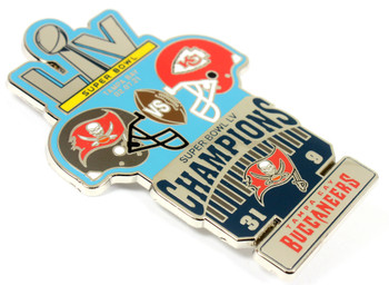 Super Bowl LV (55) Oversized Commemorative Pin - One Piece