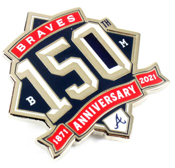 Atlanta Braves 150th Anniversary Pin - 1871-2021