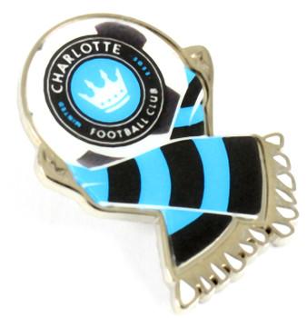 Charlotte Football Club Scarf Pin