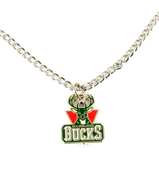 Milwaukee Bucks Necklace - Vintage Logo