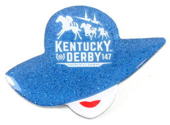 2021 Kentucky Derby 147th Glitter Hat Pin