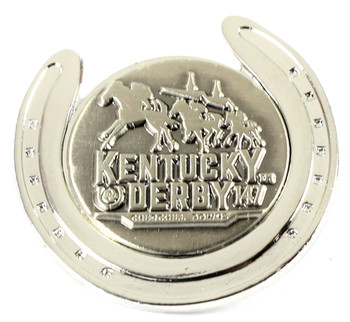 2021 Kentucky Derby 147th Lucky Horseshoe Pin