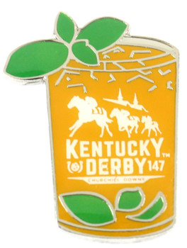 2021 Kentucky Derby 147th Mint Julep Pin