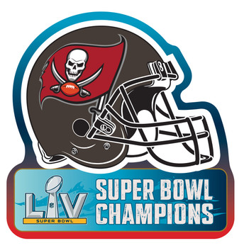 Tampa Bay Buccaneers Super Bowl LV (55) Champions MAGNET