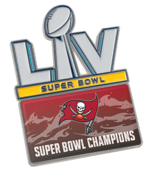 Tampa Bay Buccaneers Super Bowl LV (55) Champs Pin