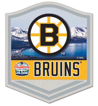 Boston Bruins - Outdoors At Lake Tahoe Dueling Pin