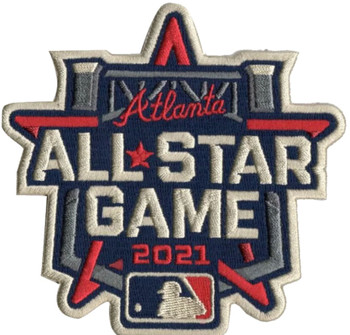 2021 MLB All-Star Game Logo PATCH - 4""