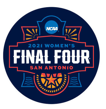 2021 Women's Final Four San Antonio Pin