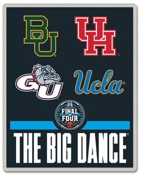 "2021 Men's Final Four Dueling Teams ""The Big Dance"" Pin"
