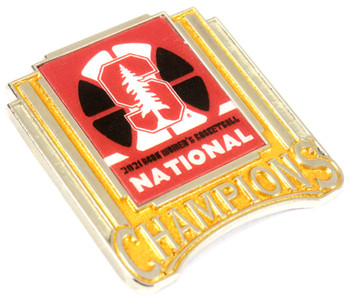 Stanford Cardinals 2021 Women's Final Four Champs Pin