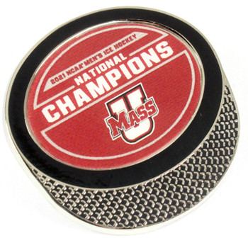 University of Massachusetts 2021 Men's Frozen Four Champs Pin