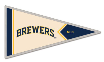 Milwaukee Brewers Pennant Pin
