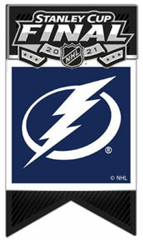 Tampa Bay Lightning 2021 Stanley Cup / Eastern Conference Champs Pin