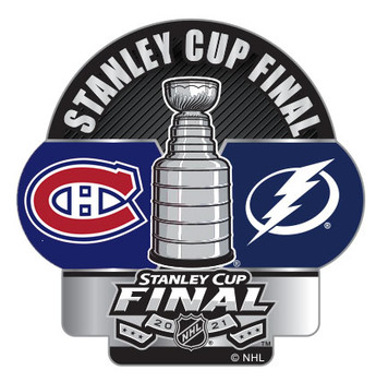 2021 Stanley Cup Dueling Pin - Canadiens vs. Lightning
