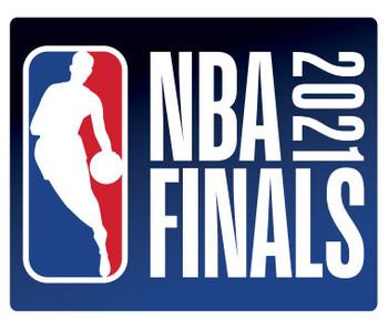 2021 NBA Finals Logo Pin