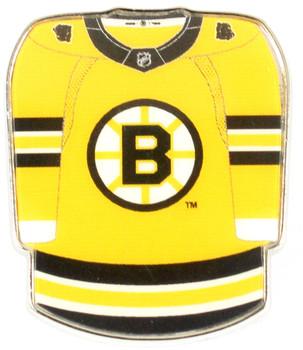 Boston Bruins Jersey Pin - Gold