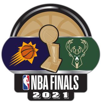 2021 NBA Finals Dueling Pin - Suns vs. Bucks