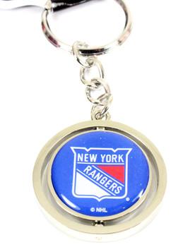 New York Rangers Spinning Key Ring