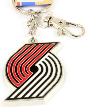 Portland Trail Blazer Logo Key Chain