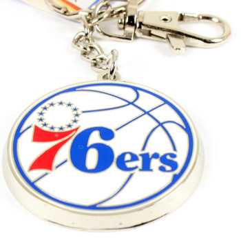 Philadelphia 76ers Logo Key Chain