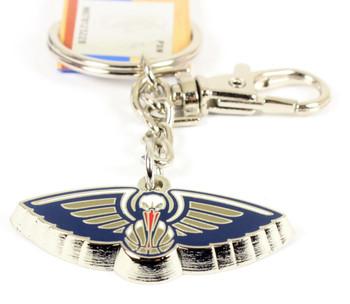 New Orleans Pelicans Logo Key Chain