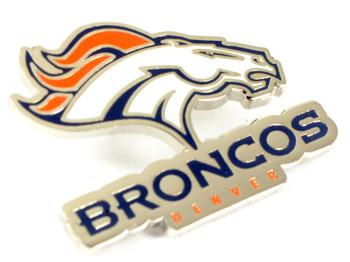 Denver Broncos Logo Pin.