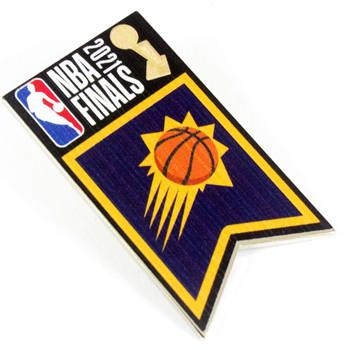 Phoenix Suns 2021 NBA Finals Banner Pin