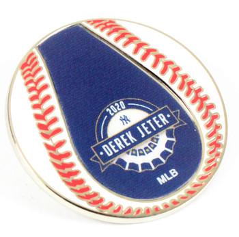 Derek Jeter 2020 Hall Of Fame Induction Baseball Pin