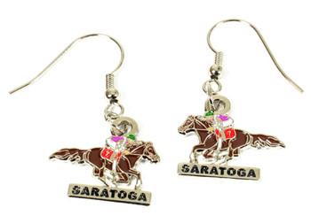 Saratoga Horse Racing Earrings