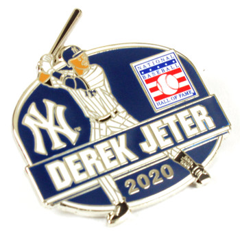 Derek Jeter 2020 Hall Of Fame Induction Pin - Cooperstown Collection