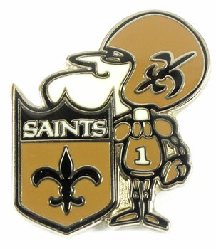 New Orleans Saints Vintage Logo Pin