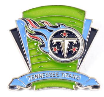 Tennessee Titans Logo Field Pin