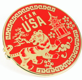 Beijing 2022 Olympics Year Of The Tiger Pin