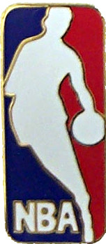 National Basketball Association Logo Pin