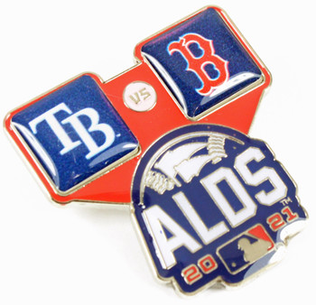 2021 ALDS Dueling Pin - Boston Red Sox vs. Tampa Bay Rays