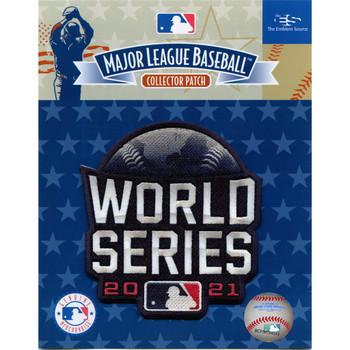 "2021 MLB World Series Logo PATCH - 4"""