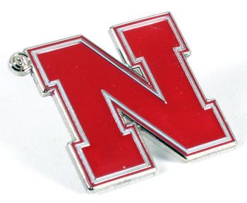 Nebraska Logo Pin