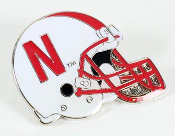 Nebraska Football Helmet Pin