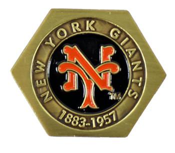 New York Giants Press Style Pin