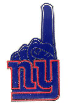 New York Giants #1 Fan Pin