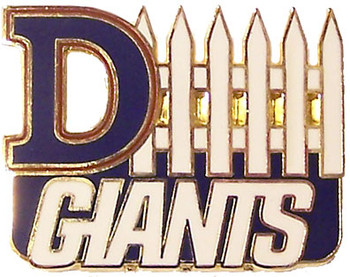 New York Giants D-Fence Pin