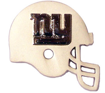 New York Giants Two Tone Helmet Double Pin