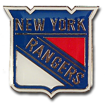 New York Rangers Logo Pin